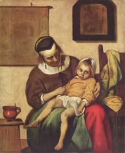 Gabriel Metsu, The Sick Child