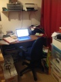 My writer's room, revealed (hint: it's not like Seamus Heaney's)