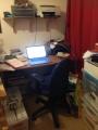 My writer's room, revealed (hint: it's not like SeamusHeaney's)