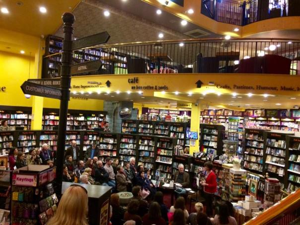 mental launch book centre crowd